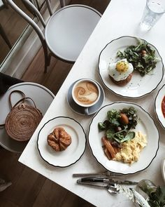 No one does breakfast quite like the Parisians Photo by @tiffwang_ #homestorymoments
