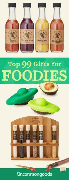 Tasty, unique food gifts are always a special treat, but this curated collection of the best food and drink gift ideas is especially tantalizing.
