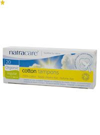 Natracare tampons were developed as a direct response to health and environmental concerns about dioxin pollution caused by chlorine bleaching, the extensive use of pesticide spraying on conventionally grown cotton, and the use of rayon and other synthetics in tampons   100% organic cotton • non-chlorine   bleached • rayon-free • certified organic  Pack of 20 More info at my website below