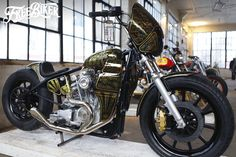 "Custom Harley-Davidson XLH 1000 Sportster ""Ironhead"" rigid 