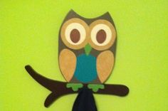 Items similar to Wooden Owl Peg Rack with Branch and Wooden Owl Shelf on Etsy Wooden Owl, Wooden Ornaments, Cute Owl, Owls, Random Things, Letters, Gift Ideas, Unique Jewelry, Handmade Gifts