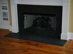 Australian cypress with 3 coats of polyurethane. Picture-frame at fireplace hearth.