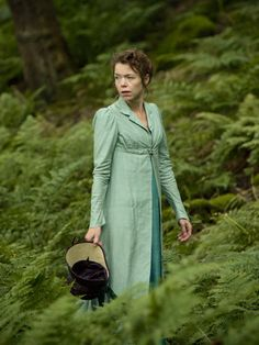 Anna Maxwell Martin as Elizabeth Darcy in Death Comes to Pemberley (TV Mini-Series, 2013).