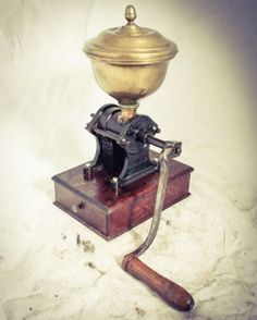 Antique J.B. LAUZANNE Coffee Grinder French Mill Moulin Molinillo Cafe c1890