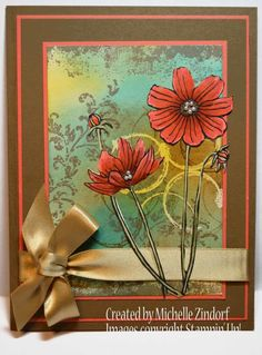 Watercolor Dragonfly – Stampin' Up! Making Greeting Cards, Greeting Cards Handmade, Making Cards, Card Making Tutorials, Making Ideas, Poppy Cards, Hand Stamped Cards, Fall Cards, Card Making Inspiration