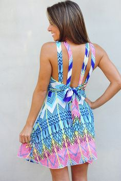 Bold Bright And Beautiful Dress: Multi | Hope's