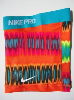 New Citrus Teal Print s Nike Pro Core Women's Compression Shorts Size Small | eBay