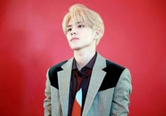 Image about blonde hair in 김원필 WONPIL by Lotta♡☆ Day6, Korean Bands, South Korean Boy Band, Park Sung Jin, Bad Songs, Kim Wonpil, Young K, Kpop, Rock Bands