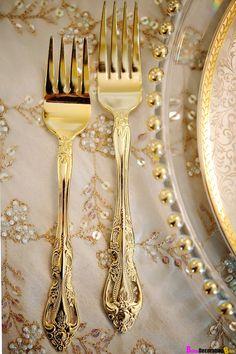 Gold Tableware