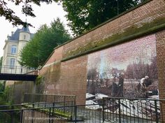 """""""Amongst Us"""", portraits representing the 25 nations that fought in the Battle of the Somme, found on walls throughout the city of Amiens, France. Until 18 November Battle Of The Somme, 2018 Year, World History, Wwi, November, Walls, Portraits, France, City"""