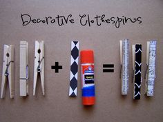 Make decorate clothespins and use them to clip a bag or attach a note to the next meal you deliver.  #TakeThemAMeal.com