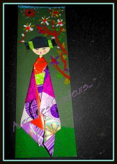 Atelier de création de Kokeshis en papier.-Avec des Couleurs-