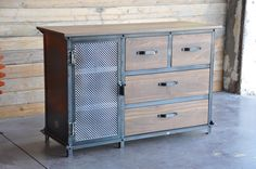 Custom Ellis Dresser by Vintage Industrial Furniture in Phoenix, AZ