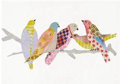 patchwork birds