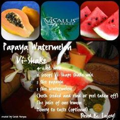 Visalus Shake Recipes