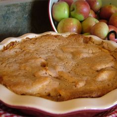 Easy Swedish Apple Pie Recipe - This is a lovely, tart apple pie covered with a sweet, cinnamon crust. 13 Desserts, Apple Desserts, Dessert Recipes, Apple Pie Recipes, Baking Recipes, Fall Recipes, Swedish Apple Pie, Homemade Apple Pie Filling, Swedish Recipes