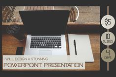 I will design a stunning PowerPoint presentation. I will work with the best images and graphics to make it more visually attractive and catch your audience's attention. (www.fiverr.com/elicoronel16)
