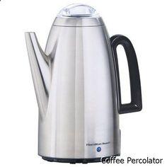 Coffee Percolator - Hamilton Beach 40614 Stainless Steel Coffee Percolator (Certified Refurbished)
