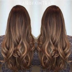 Are you looking for dark chocolate hair color for brunettes balayage? See our collection full of dark chocolate hair color for brunettes balayage and get inspired! Hair Color Highlights, Ombre Hair Color, Cool Hair Color, Brown Hair Colors, Subtle Highlights, Brunette Highlights, Cabello Color Chocolate, Dark Chocolate Hair Color, Chocolate Hair With Caramel Highlights