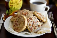 """""""Pancakes 'n' Bacon Cookies"""", And Breakfast For Dinner Or As A Snack"""