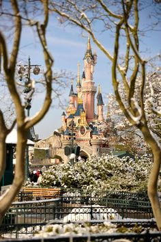 "Disneyland Paris: I would love to hear Mickey Mouse say ""bon jour!"""
