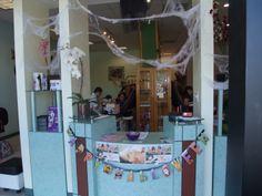 Halloween decoration 2012. #halloween,#decoration,#spa,#nail