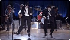 Men in Black and Blues Everybody Needs Somebody to Love