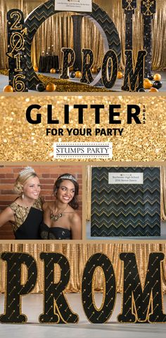 Need some glitter party ideas? Give your event a sparkling look with items from our Off Black Sophistication kit. Complement your event with personalized glitter favors, invitations, and more! Shop all of our glitter party supplies to make your event complete!