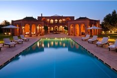 This attractive Moroccan villa with spacious living areas and extensive grounds is located in the countryside just ten miles south of Marrakech. Villa Barek is conveniently positioned for visiting the city. Marrakech Morocco, Marrakesh, Location Villa Marrakech, Bali, Luxury Villa Rentals, Villas, Belle Villa, Luxury Holidays, Dream Vacations
