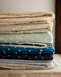 Polka Dot Lap Duvets! | The Purl Bee