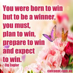You were born to be a winner!