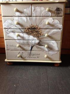Pinted dresser