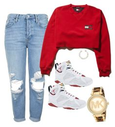 Untitled #63 by baby-boogaloo on Polyvore featuring polyvore, fashion, style, Topshop and Michael Kors