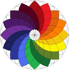 Giant Dahlia in a rainbow? I say YES! Katie's Quilts and Crafts