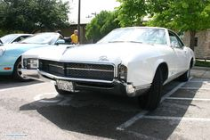 1967 Buick Riviera. As seen at the May 2012 Cars and Coffee Austin TX USA.