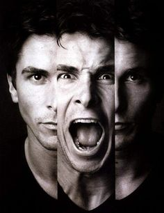 Christian Bale... I could see him playing Christian Grey*50 Shades of Grey* So Hot!