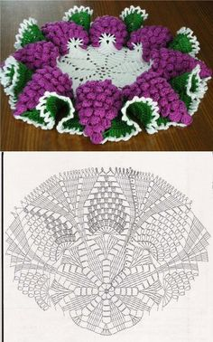 Crochet Free Form Baby Blankets 37 Ideas For 2019 Crochet Placemat Patterns, Crochet Flower Patterns, Crochet Tablecloth, Crochet Designs, Crochet Doilies, Crochet Flowers, Crochet Stitches, Crochet Flower Tutorial, Crochet Diy