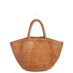 LAGGO Woven Leather South Beach Tote ($595) ❤ liked on Polyvore featuring bags, handbags, tote bags, tan, leather zip tote, tan leather tote bag, white leather handbags, white leather purse and white leather tote