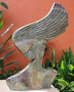 By Lovemore Bonjisi Human Sculpture, Stone Sculpture, Sculpture Clay, Abstract Sculpture, Clay Wall Art, Clay Art, Ceramic Workshop, African Sculptures, Found Art