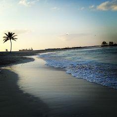 Via @rosalmon on Instagram - Nassau Paradise Island beach vacation.