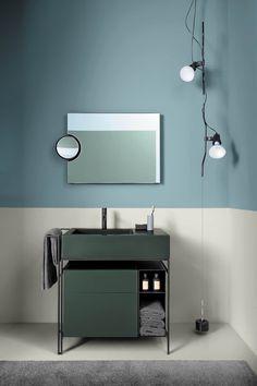 Minimalist bathroom 312085449178860100 - Meuble-vasque Narciso en version Mini – ©️️Cielo Source by galerieartoid