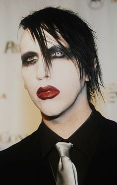 I never realized how many other people love Marilyn Manson. I love him so much, but most other people think he is bad. I've never really met anyone who loves Manson like I do.