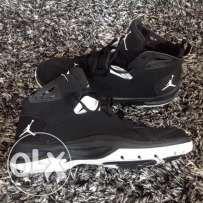 Jordan Ace 23 II Mens Basketball Shoes black white sz 12