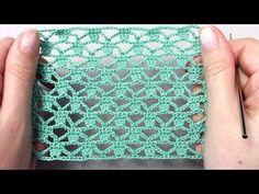 Красивый узор крючком/Подробный МК - YouTube Crochet Square Patterns, Crochet Motif, Crochet Designs, Crochet Lace, Knitting Stitches, Knitting Patterns, Crochet Videos, Beautiful Crochet, Crochet Clothes