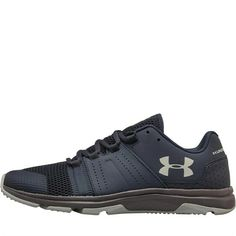 Under Armour Mens Raid Training Shoes Trainers Lace Up Mesh Panels Pattern