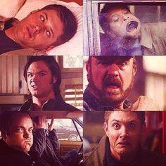Supernatural Cast Blooper Faces