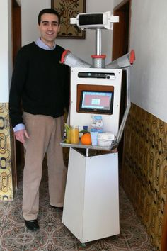 Elderly Care Robot: An Interview with Antonio Espingardeiro, PhD student at the University of Salford