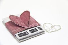 Minialbum mit Herz