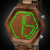 Night Vision Wood Led Watches