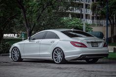 "OUR CLIENT'S MERCEDES CLS550 WITH 20"" VOSSEN CVT WHEELS 